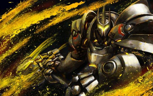 Video Game Overwatch Reinhardt HD Wallpaper   Background Image