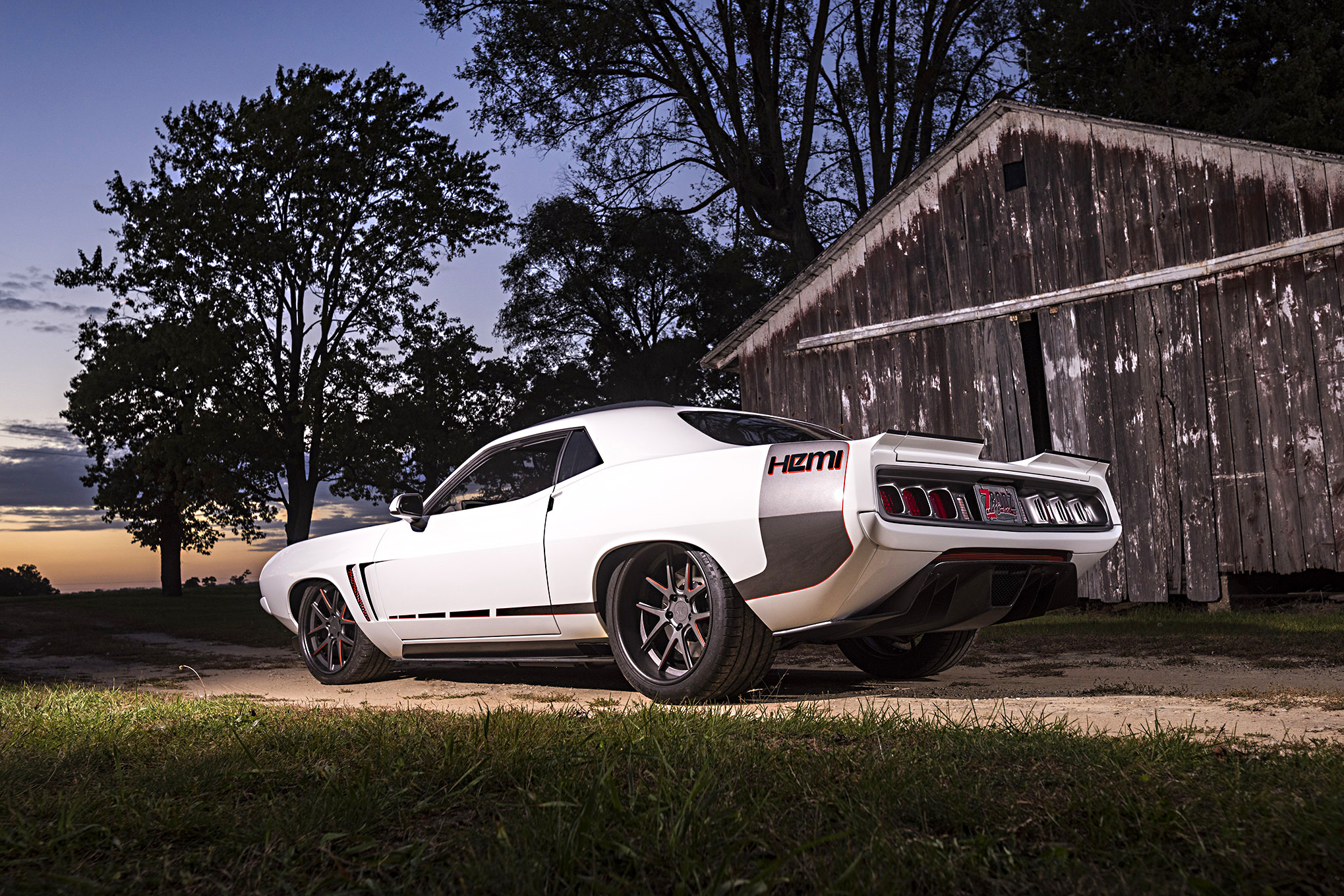 Plymouth Barracuda Full HD Wallpaper And Background Image