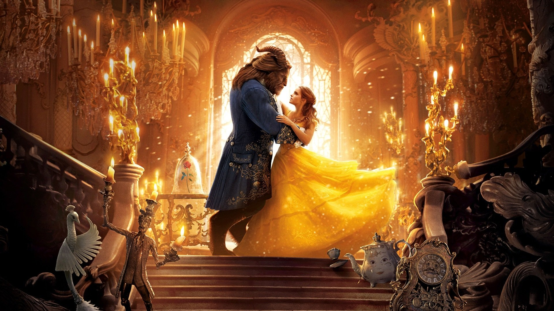 Movie - Beauty And The Beast (2017)  Emma Watson Wallpaper