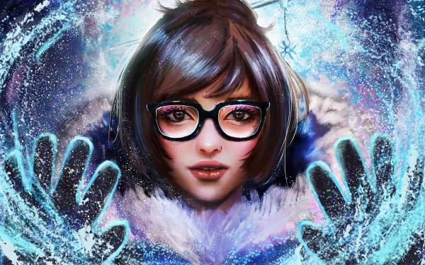 Video Game Overwatch Mei HD Wallpaper | Background Image