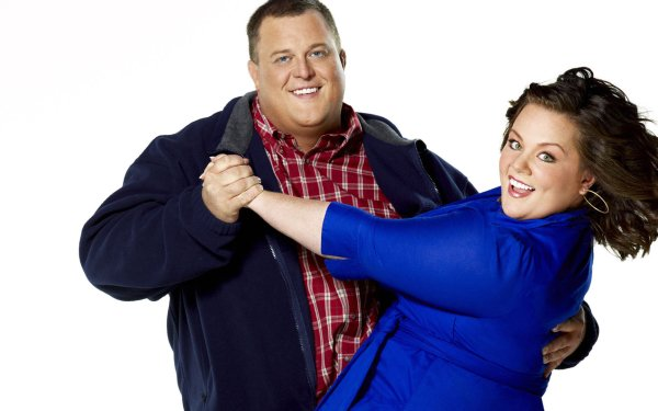 TV Show Mike & Molly Melissa McCarthy Billy Gardell HD Wallpaper | Background Image