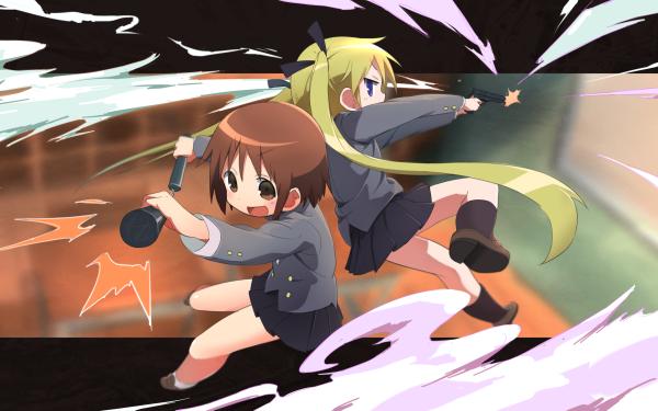 Anime Kill Me Baby Yasuna Oribe Sonya HD Wallpaper | Background Image