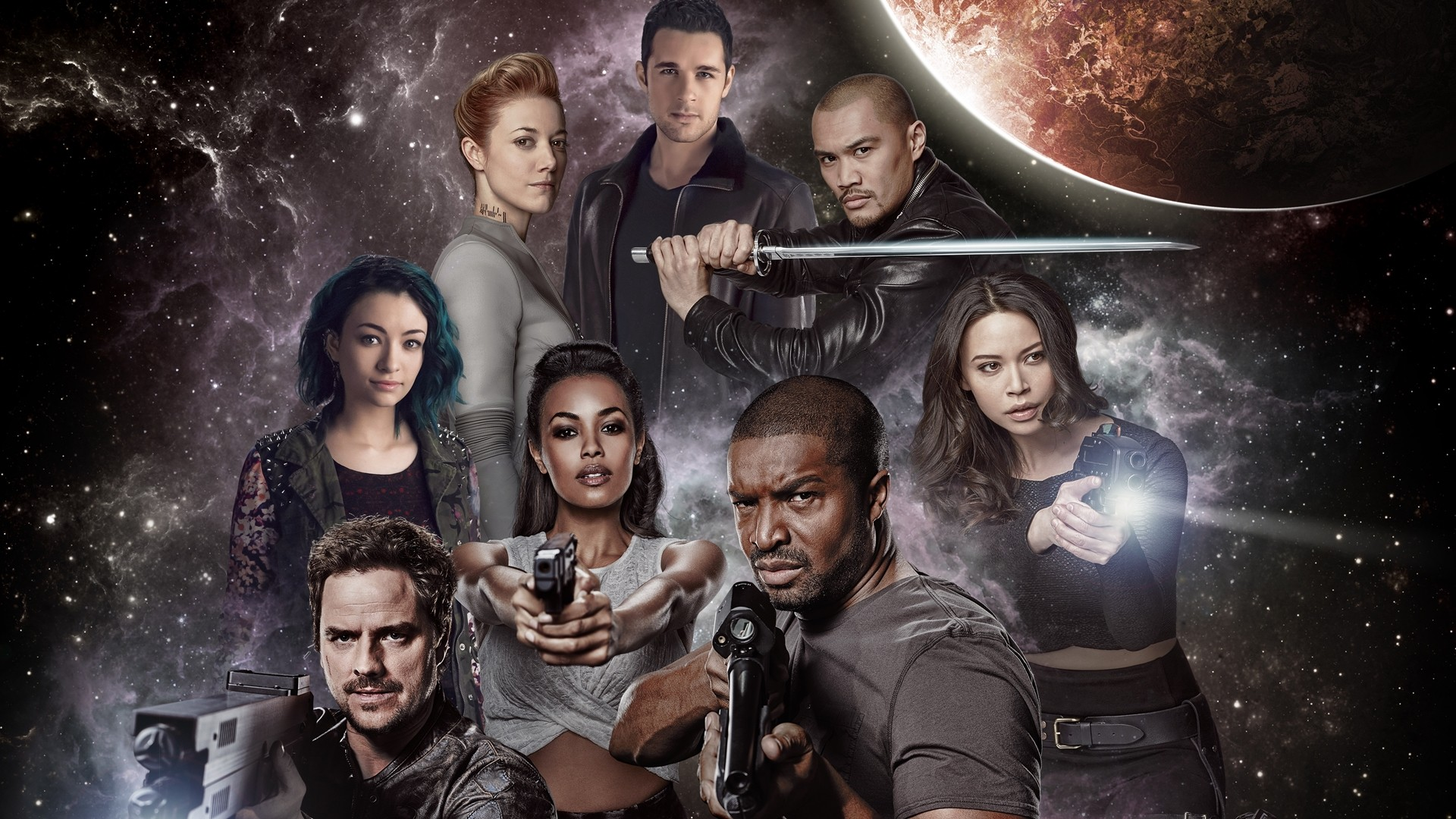 Dark Matter Cast HD Wallpaper | Background Image ...
