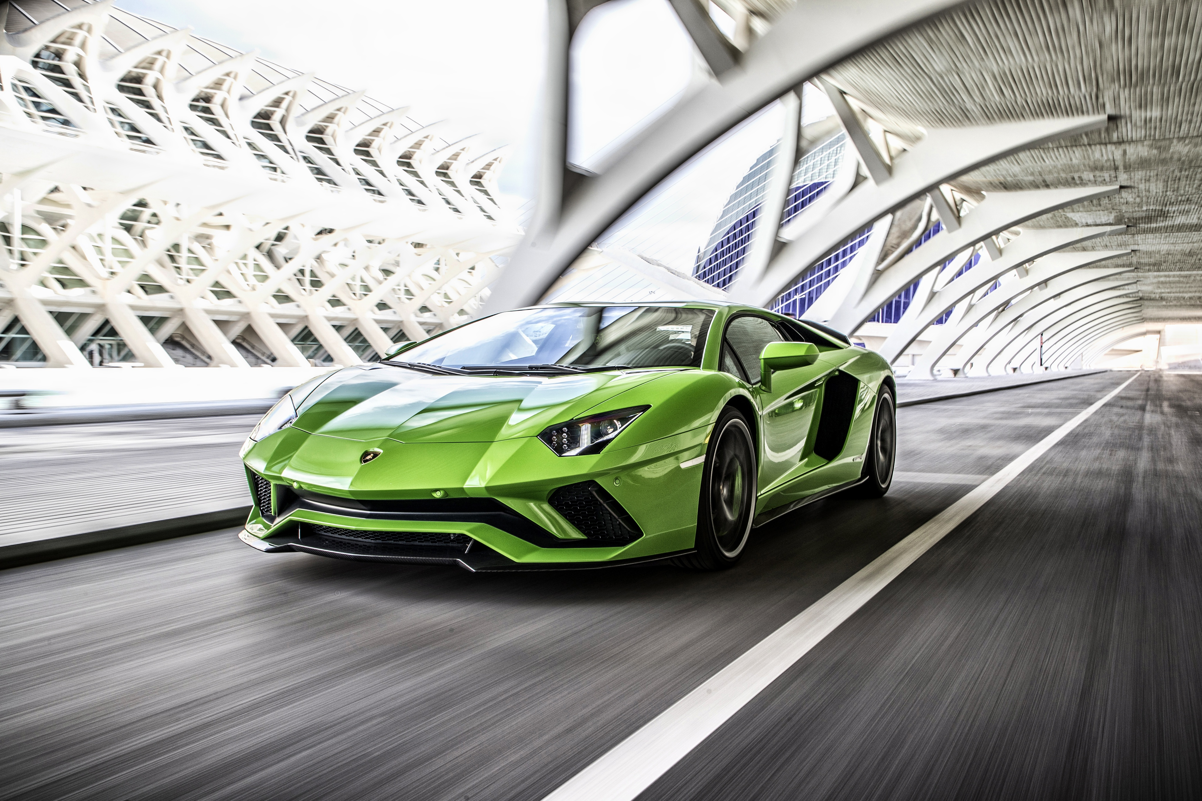 Lamborghini Aventador S 4k Ultra Hd Wallpaper Hintergrund