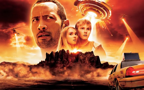 Movie Race To Witch Mountain Dwayne Johnson Alexander Ludwig Annasophia Robb Carla Gugino HD Wallpaper | Background Image