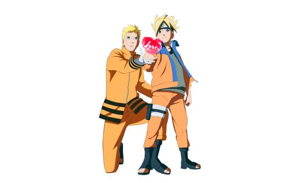 Anime Boruto Naruto Boruto Uzumaki Naruto Uzumaki HD Wallpaper   Background Image