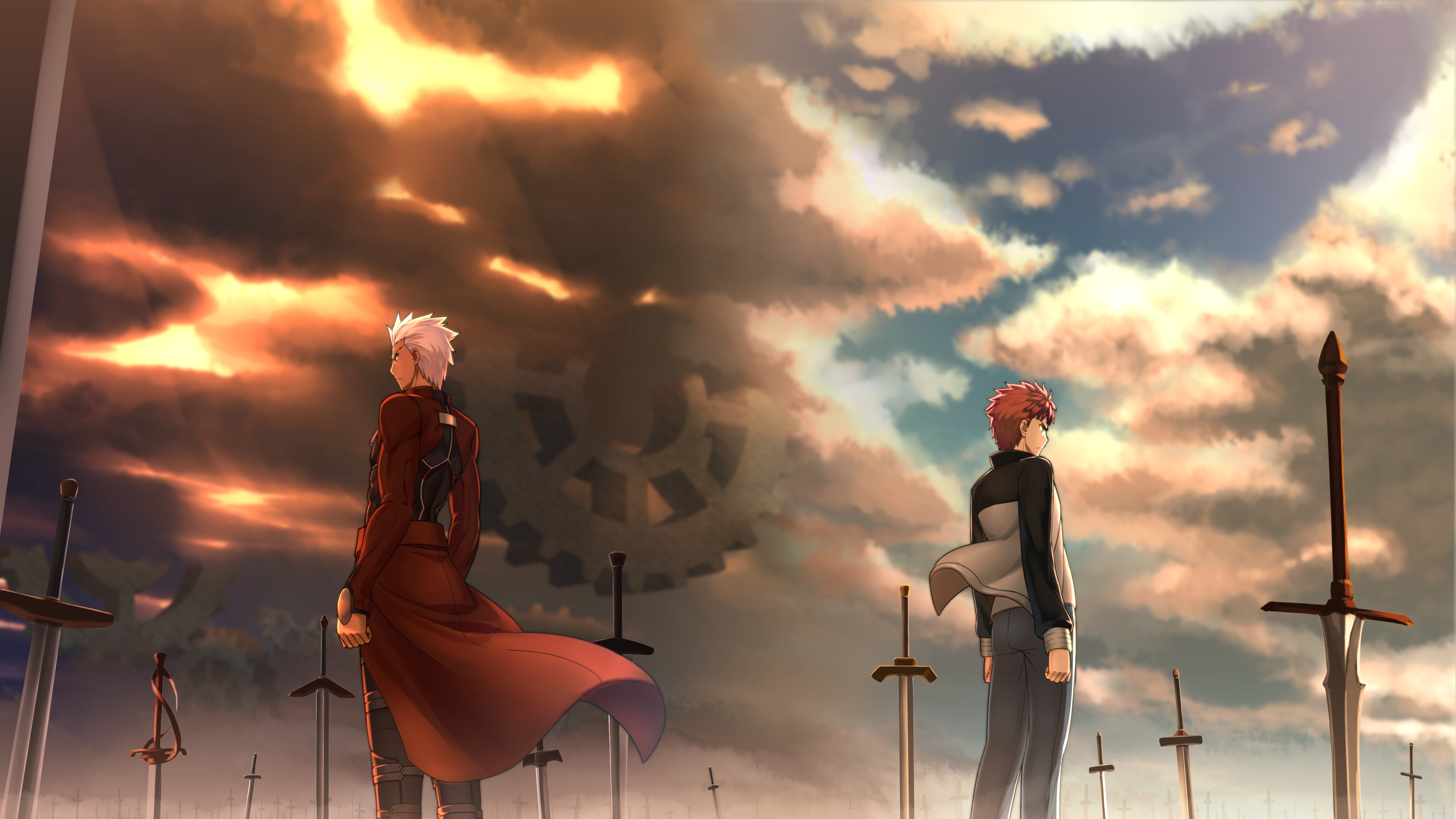 Fate stay night unlimited blade works 4k ultra hd wallpaper background image 3840x2160 id - Fate stay night wallpaper ...