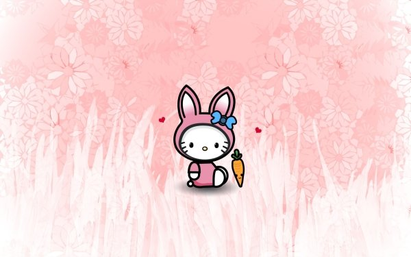 Holiday Easter Hello Kitty HD Wallpaper   Background Image