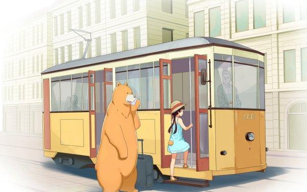 Anime Kuma Miko: Girl Meets Bear HD Wallpaper | Background Image