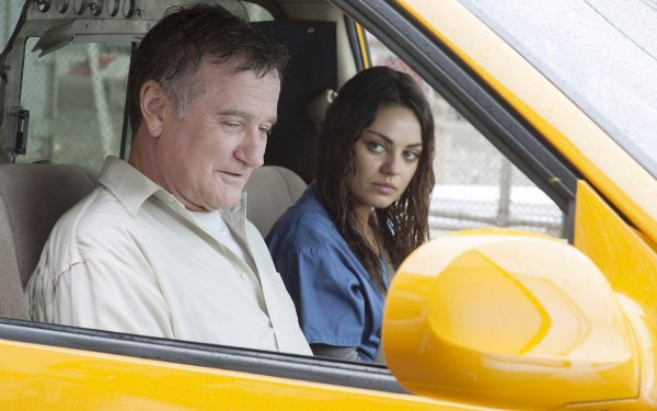 Movie The Angriest Man in Brooklyn Robin Williams Mila Kunis HD Wallpaper | Background Image