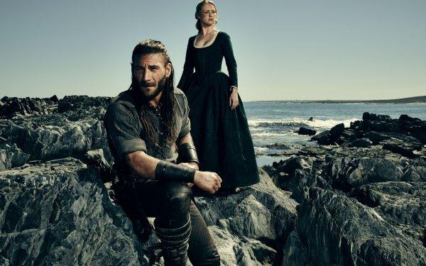 TV Show Black Sails Charles Vane Zach McGowan Eleanor Guthrie Hannah New HD Wallpaper | Background Image