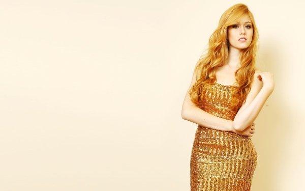 Celebrity Katherine Mcnamara Actresses United States Actress Red Hair HD Wallpaper   Background Image