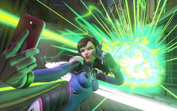 Video Game Overwatch D.Va Selfie HD Wallpaper | Background Image