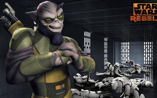 TV Show Star Wars Rebels Star Wars Zeb Orrelios HD Wallpaper | Background Image