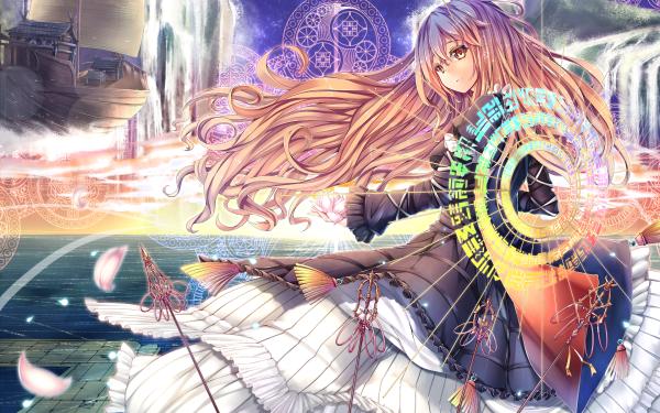 Anime Touhou Byakuren Hijiri HD Wallpaper | Background Image