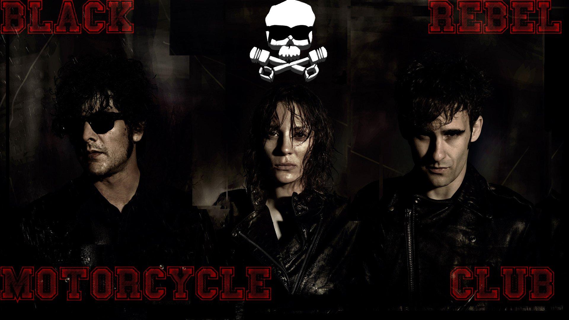 Black Rebel Motorcycle Club Fondo De Pantalla Hd Fondo De