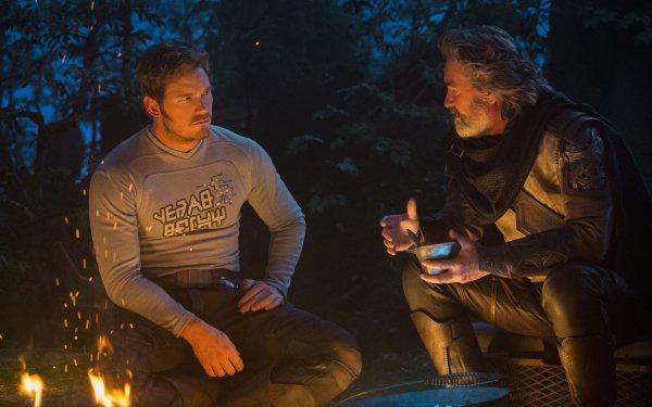 Movie Guardians of the Galaxy Vol. 2 Kurt Russell Ego Chris Pratt Star Lord HD Wallpaper | Background Image