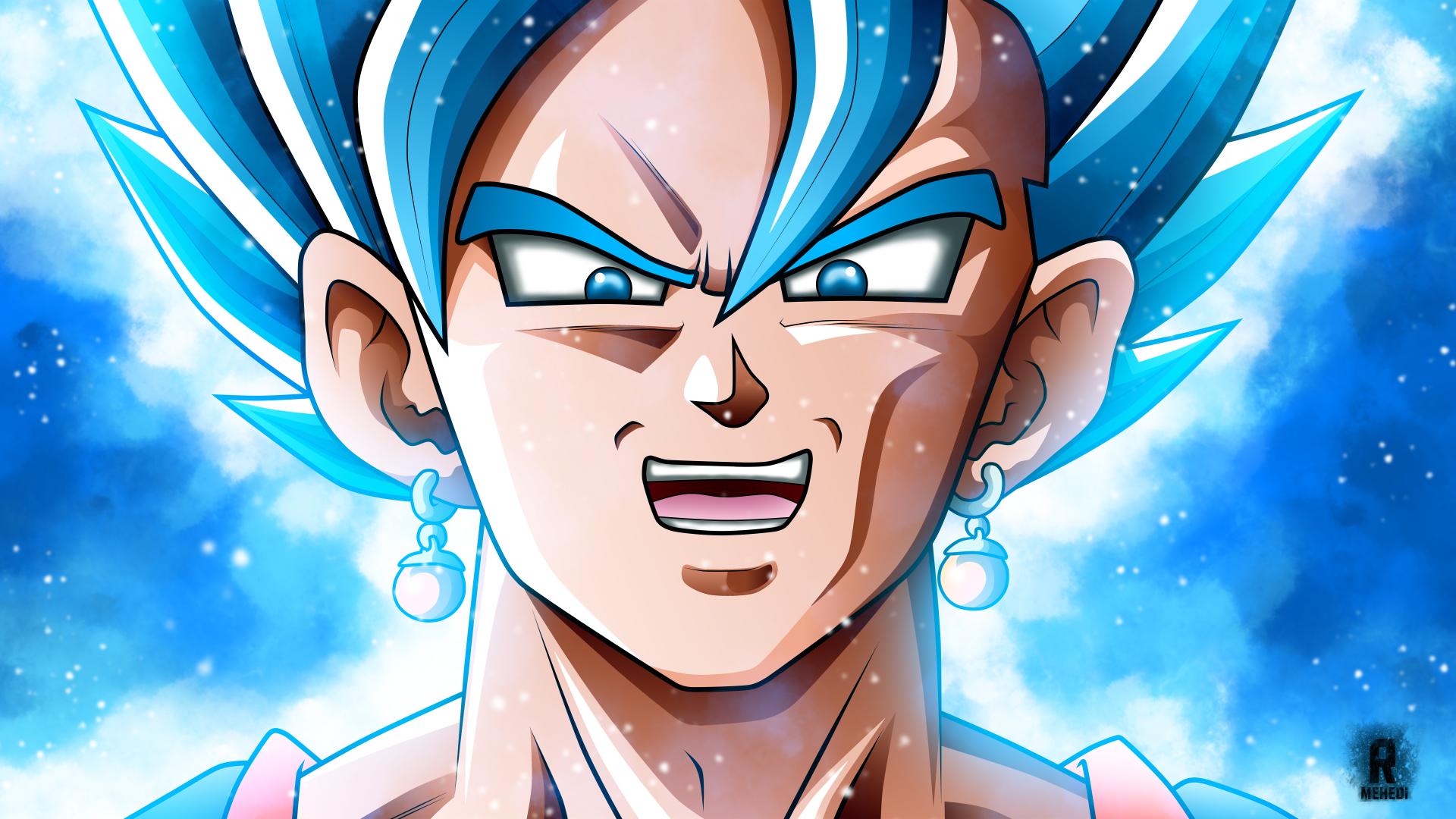 Anime - Dragon Ball Super  Vegito (Dragon Ball) SSGSS Vegito Bakgrund