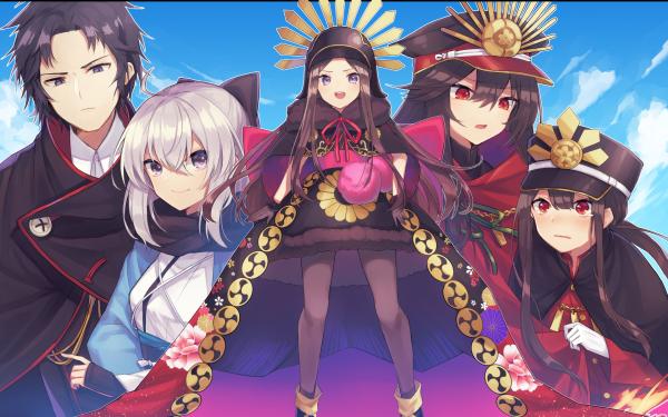 Anime Fate/Grand Order Fate Series Demon archer Sakura Saber HD Wallpaper   Background Image