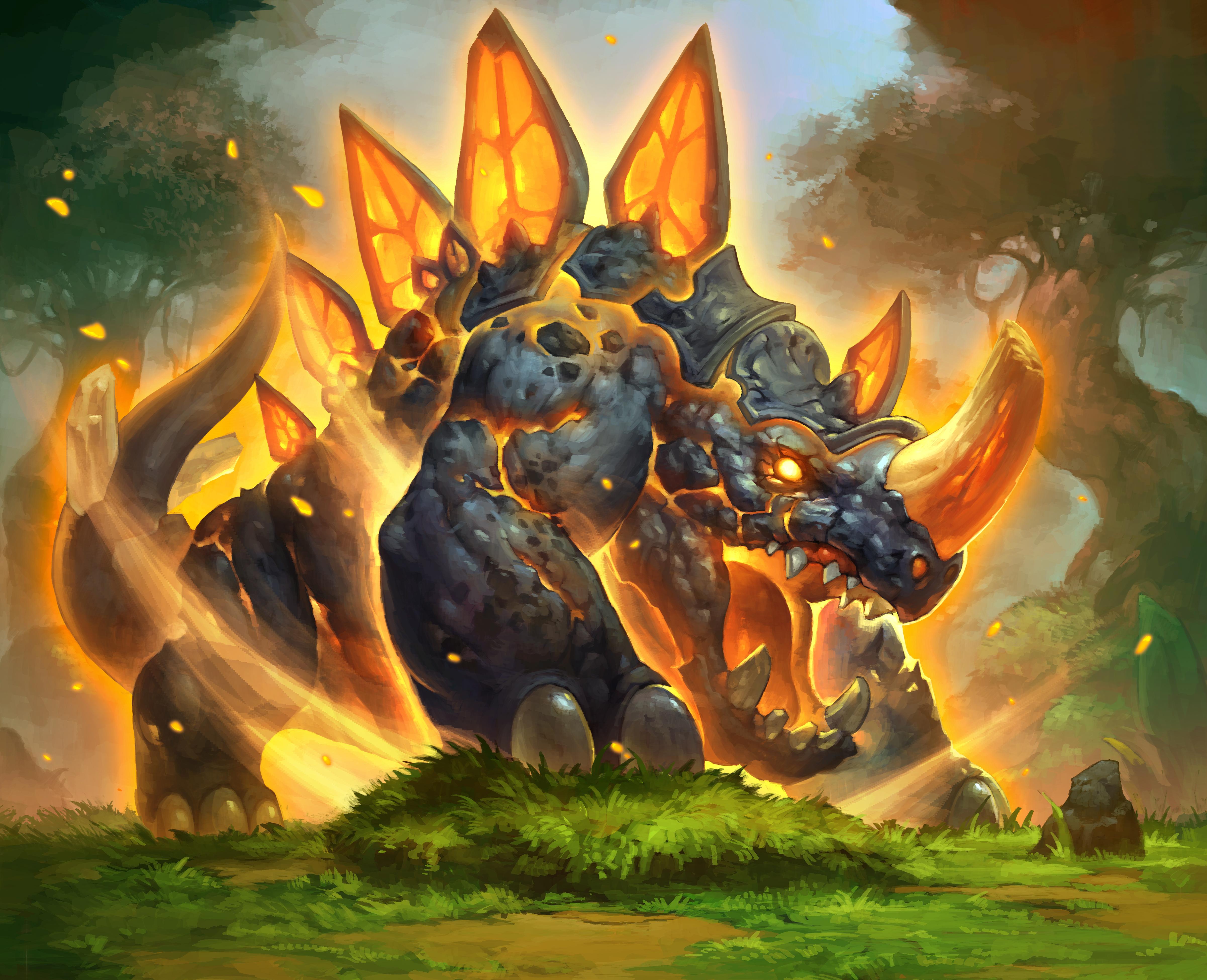 Hearthstone Heroes Of Warcraft 4k Ultra Hd Wallpaper Background