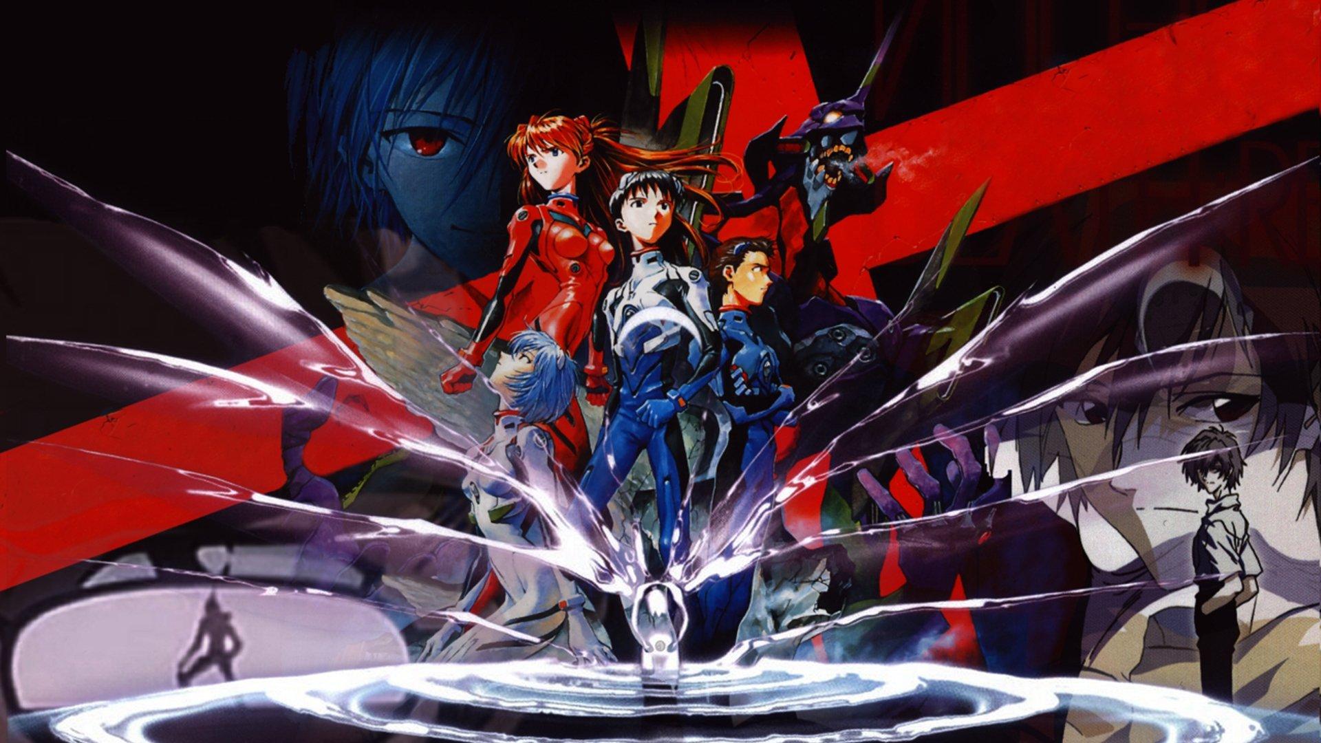 Neon Genesis Evangelion Hd Wallpaper Background Image