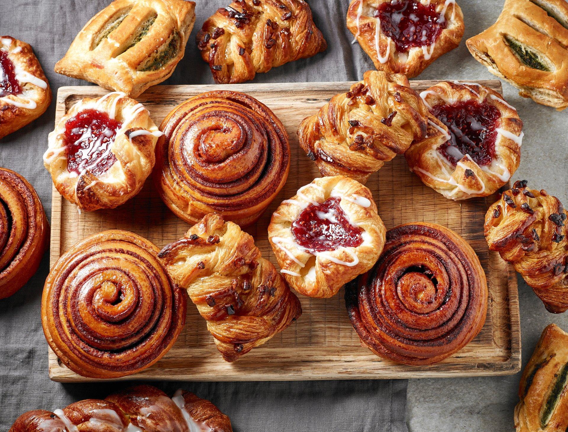 Food - Breakfast  Pastry Wallpaper