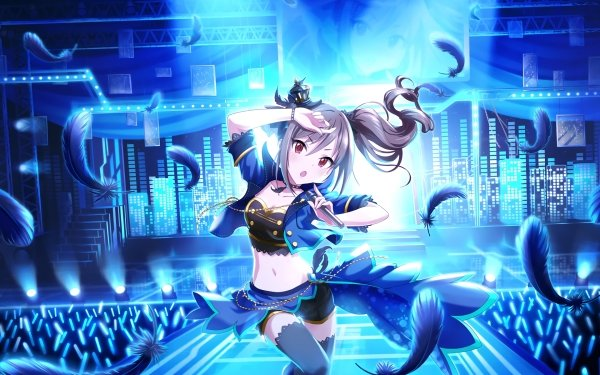 Anime THE iDOLM@STER: Cinderella Girls Starlight Stage THE iDOLM@STER Ranko Kanzaki HD Wallpaper | Background Image