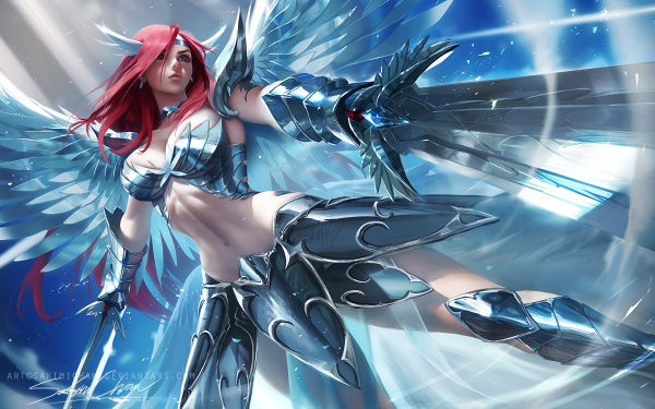Anime Fairy Tail Erza Scarlet HD Wallpaper | Background Image
