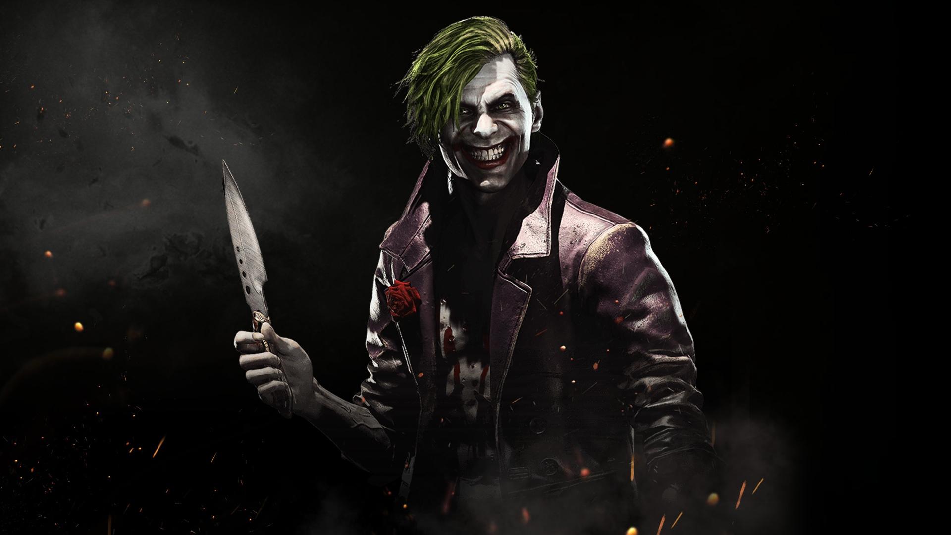The Joker Fond D Ecran Hd Arriere Plan 1920x1080 Id