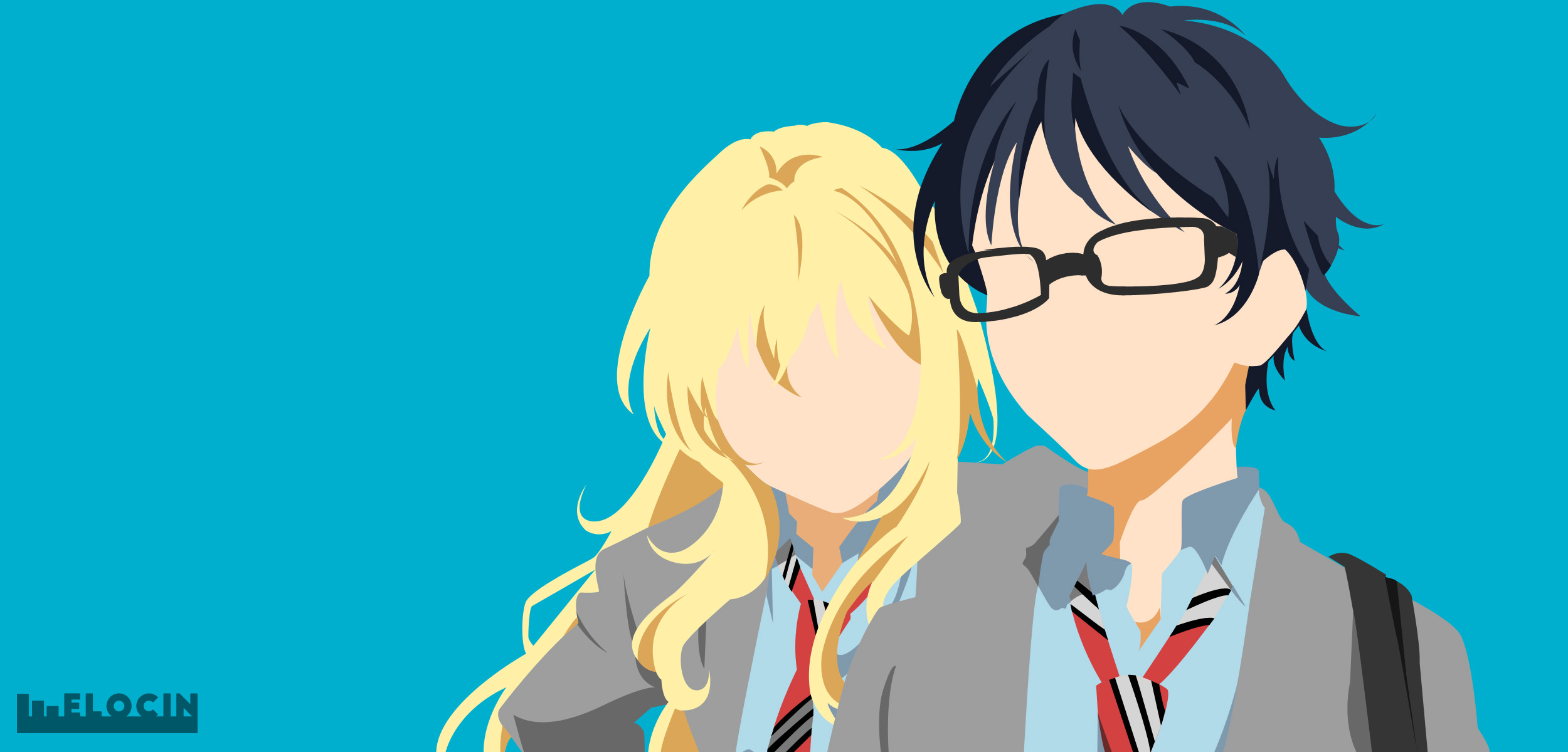 Your Lie In April Hd Wallpaper Background Image 2500x1200 Id