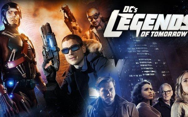 TV Show DC's Legends Of Tomorrow Atom Captain Cold Rip Hunter Kendra Sanders Sara Lance Martin Stein Heat Wave HD Wallpaper | Background Image