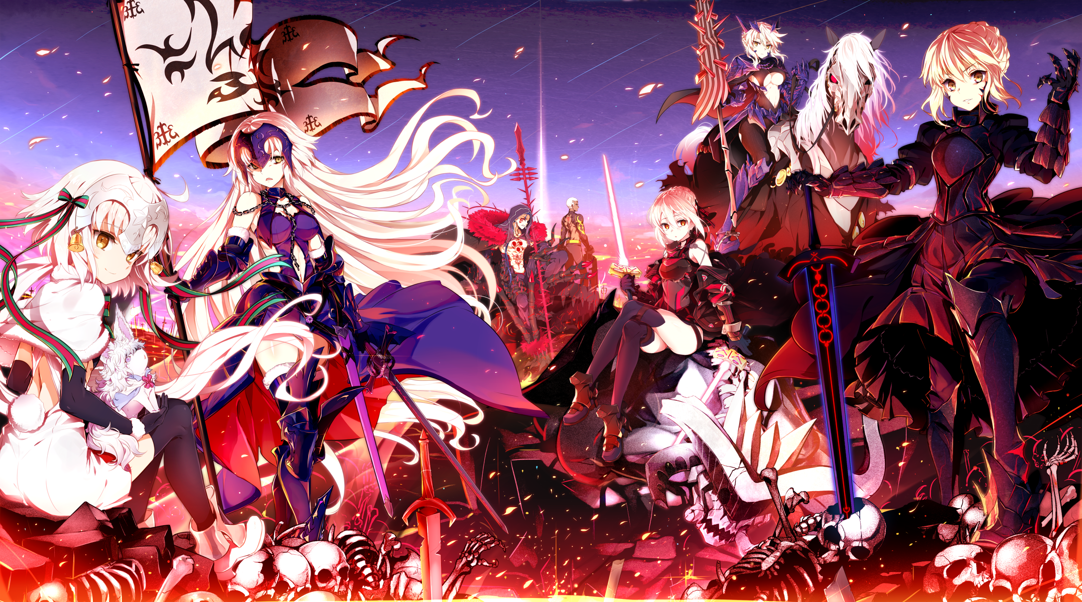 2406 Fate Grand Order Hd Wallpapers Background Images