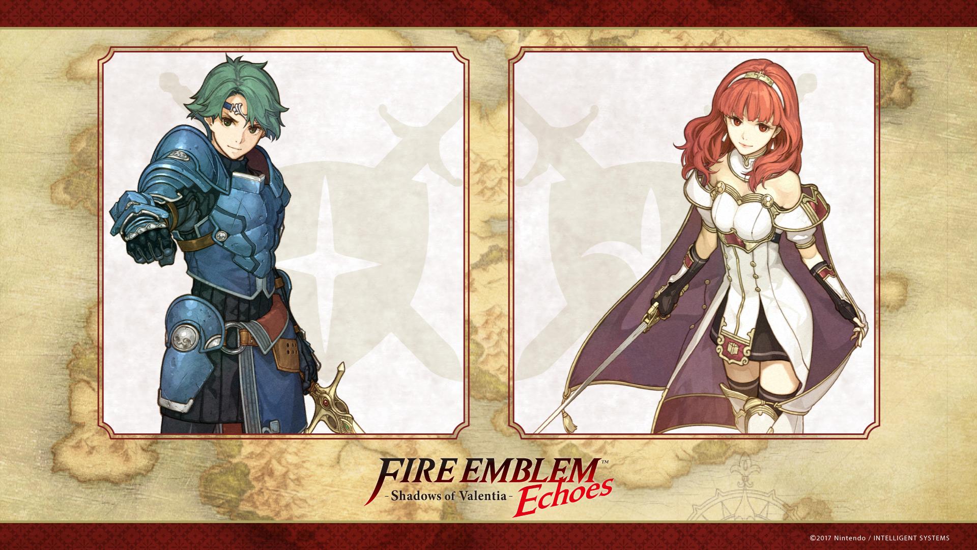 Fire Emblem Echoes Shadows Of Valentia Hd Wallpaper Background
