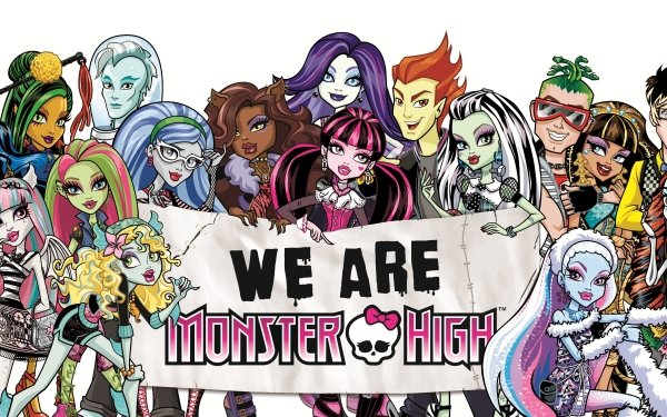 TV Show Monster High Doll Mattel Fantasy Gothic Emo HD Wallpaper | Background Image