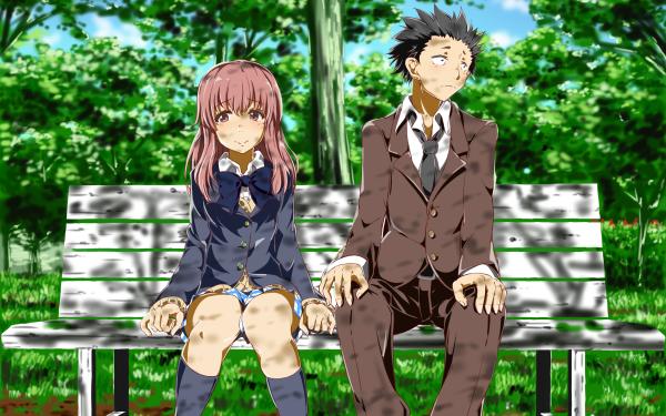 Anime Koe No Katachi Shouko Nishimiya Shouya Ishida HD Wallpaper | Background Image