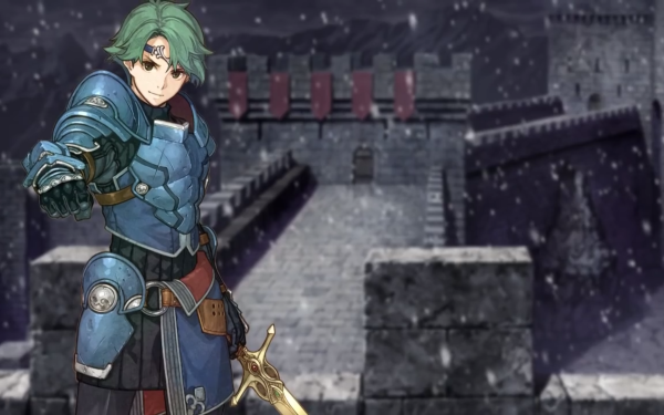 Video Game Fire Emblem Echoes: Shadows of Valentia Alm HD Wallpaper | Background Image