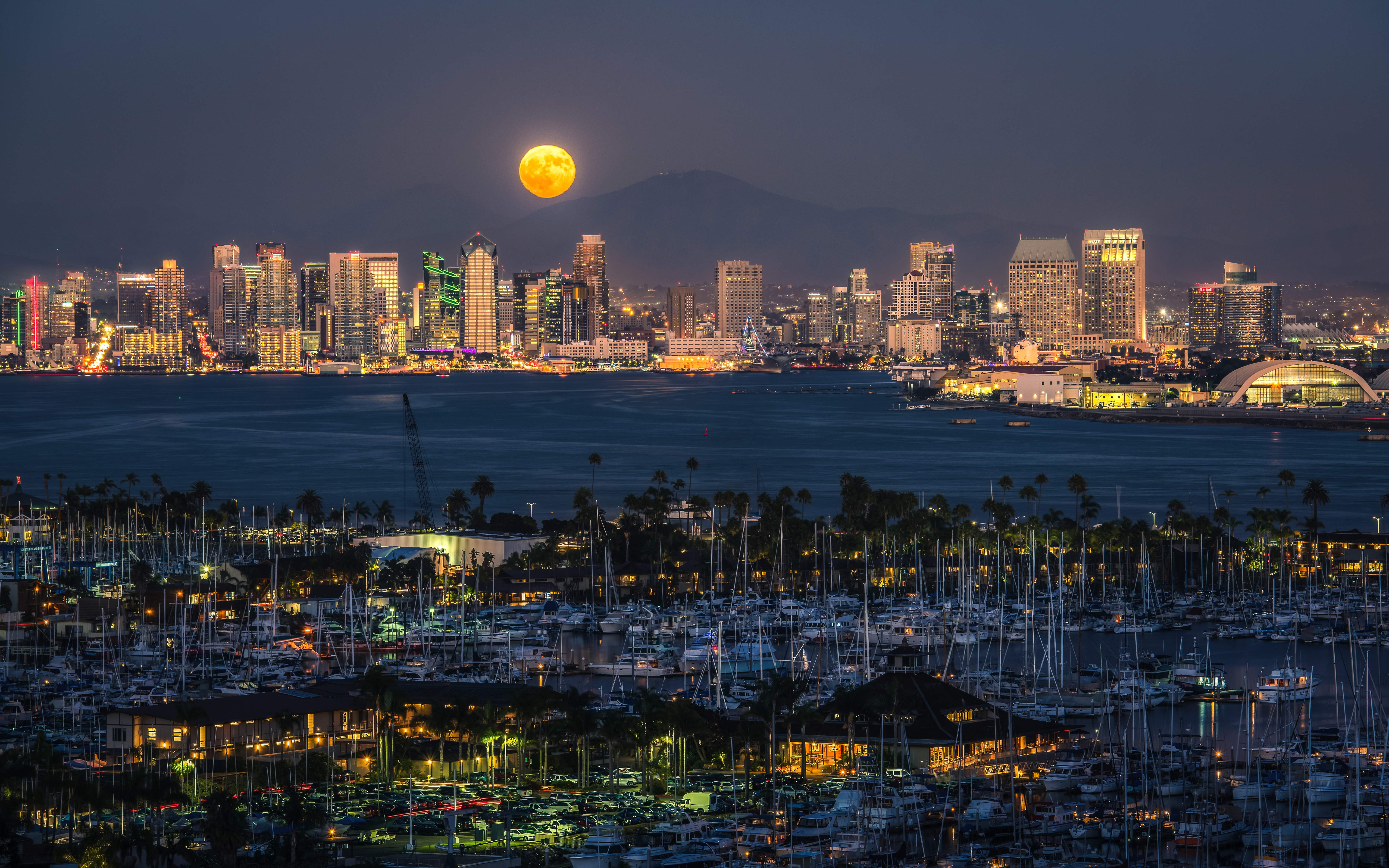 San Diego 5k Retina Ultra HD Wallpaper