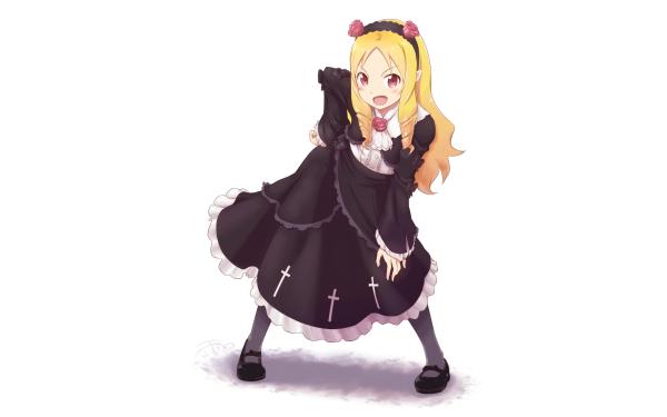 Anime EroManga-Sensei Elf Yamada Cosplay HD Wallpaper | Background Image