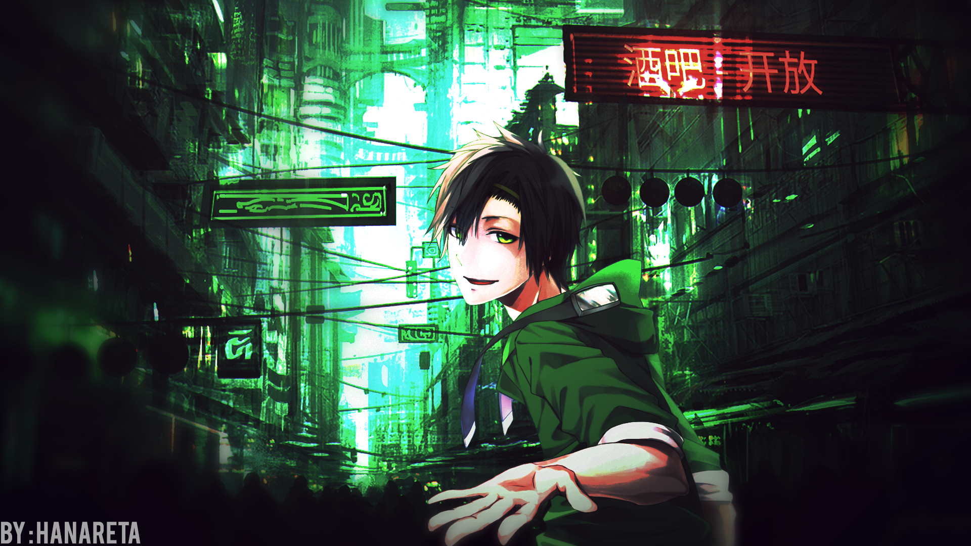 Downtown Anime Wallpaper Hd Fondo De Pantalla Hd Fondo