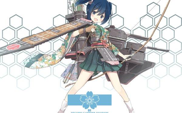 Anime Kantai Collection Souryuu HD Wallpaper | Background Image