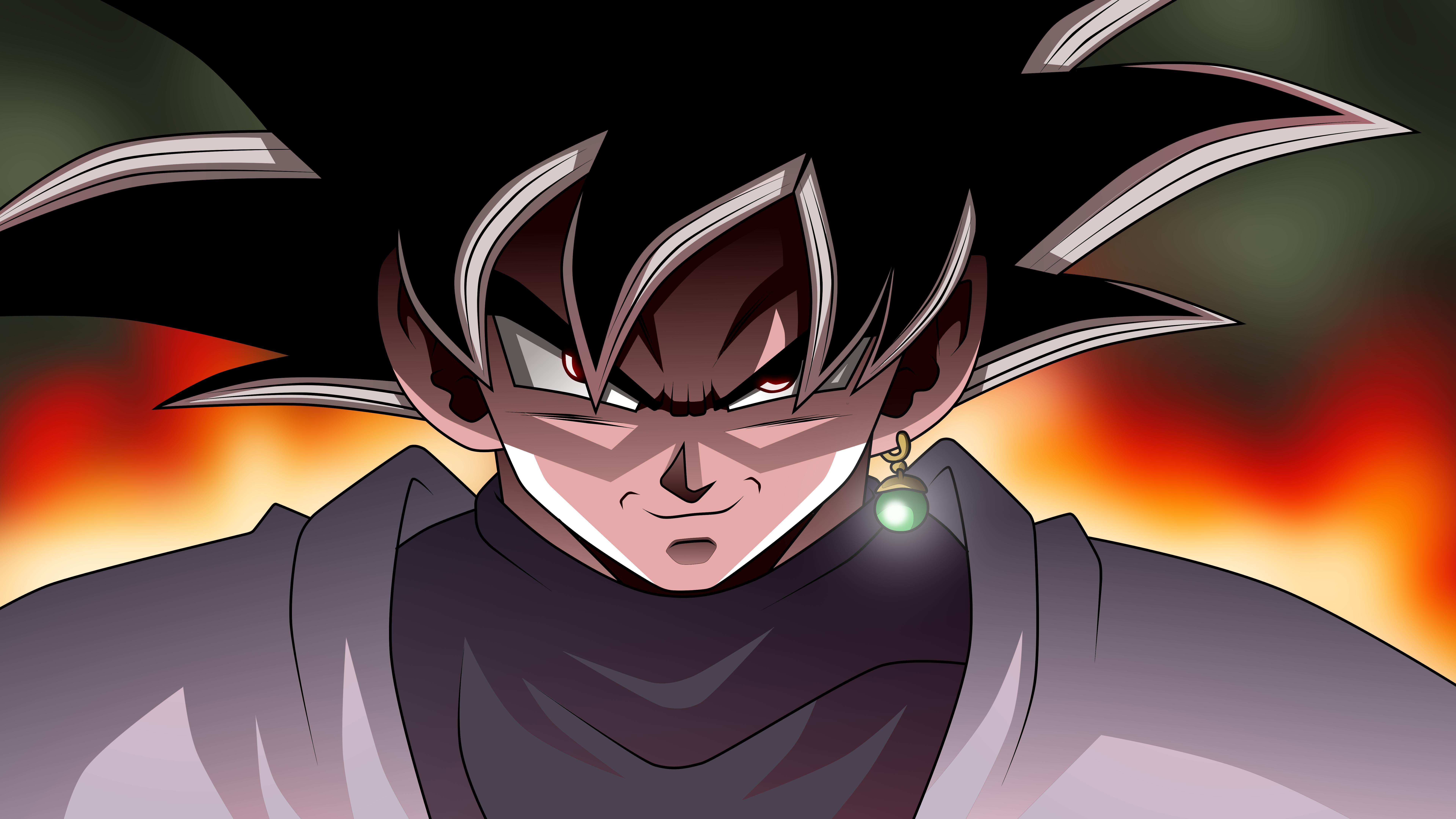 Black Goku Fondo De Pantalla And Fondo De Escritorio: Dragon Ball Super 8k Ultra Fondo De Pantalla HD