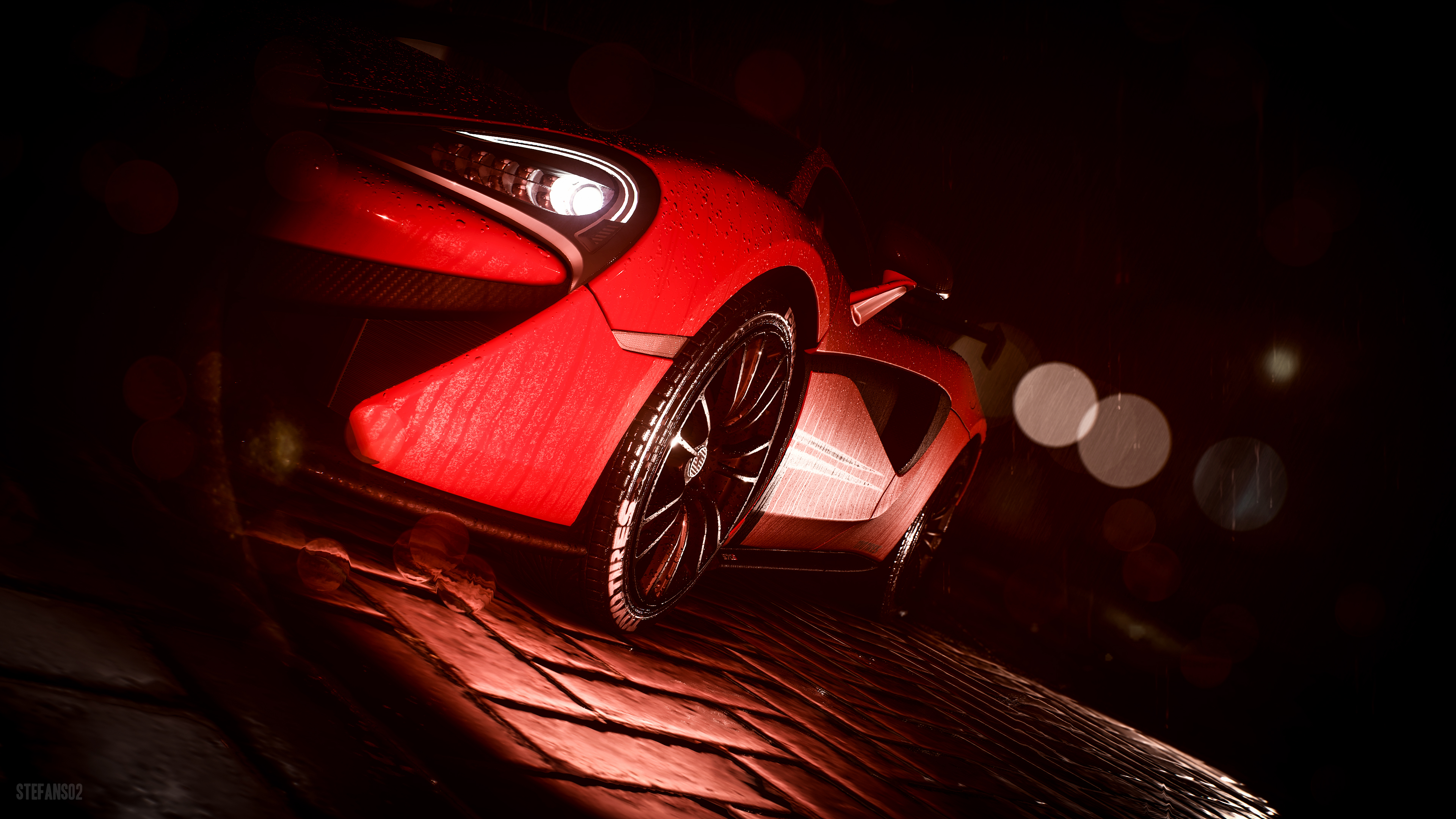 Need For Speed Dressed In Red 4k Ultra Hd Wallpaper