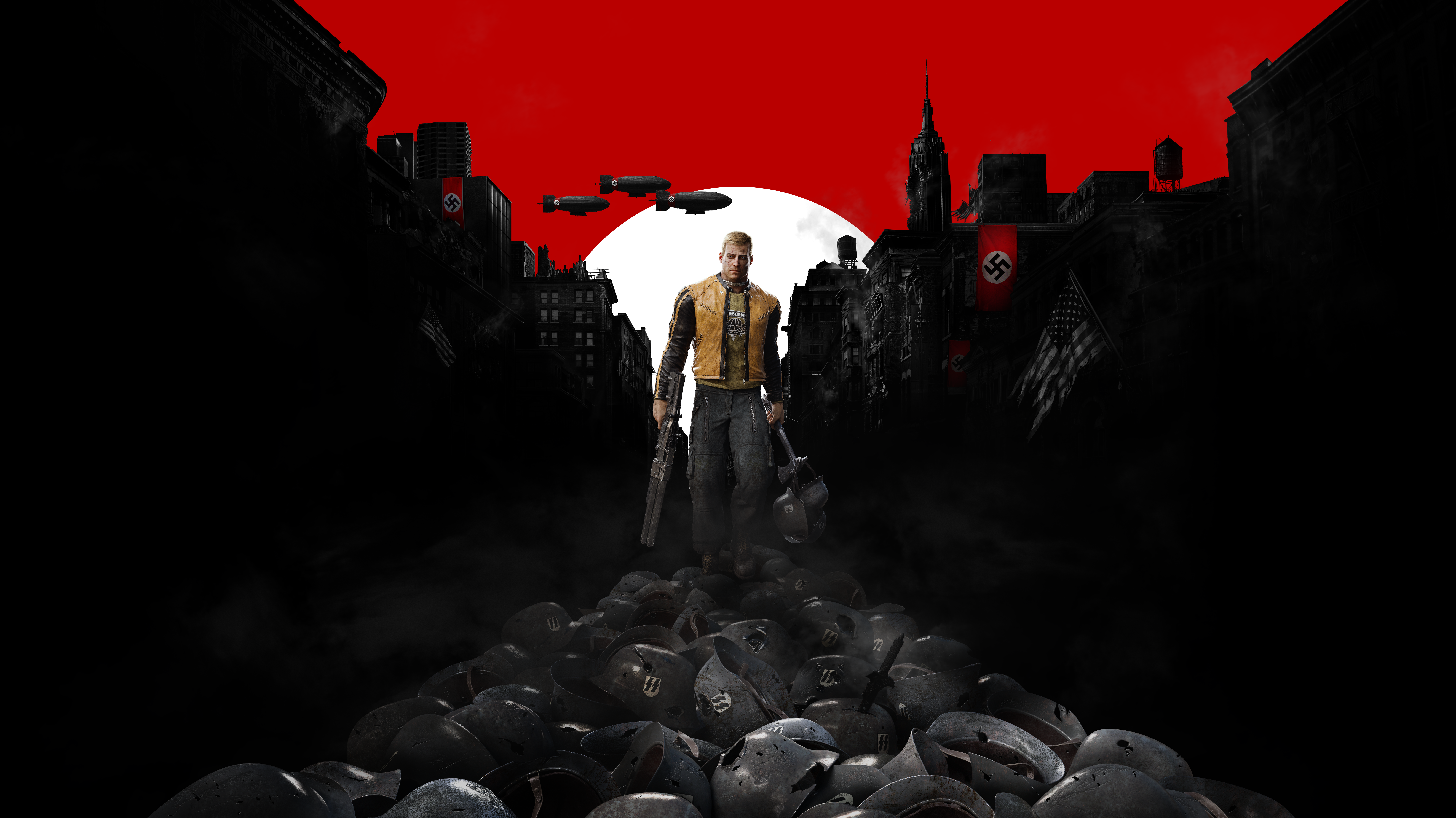 17 Wolfenstein Ii The New Colossus Hd Wallpapers Background