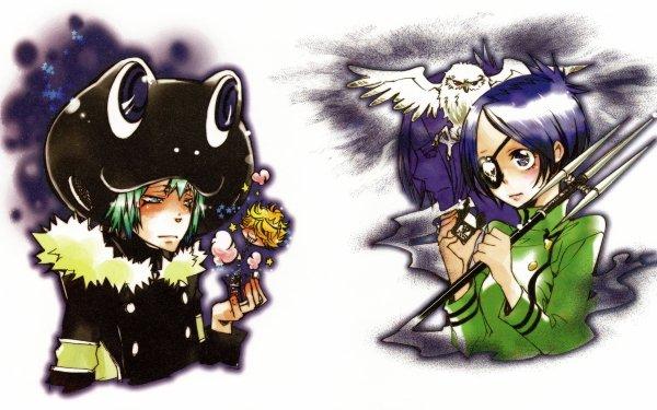 Anime Katekyō Hitman Reborn! Chrome Dokuro Mukuro Rokudo Fran Belphegor HD Wallpaper | Background Image