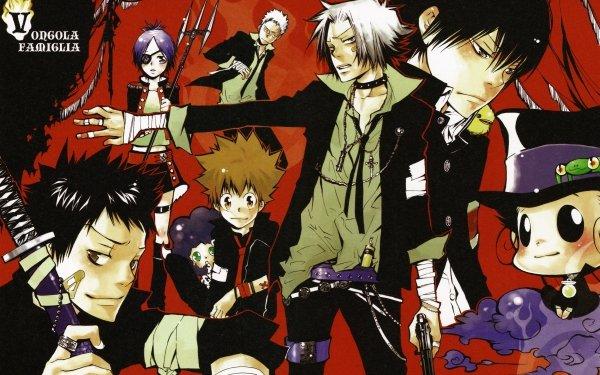 Anime Katekyō Hitman Reborn! Ryohei Sasagawa Chrome Dokuro Takeshi Yamamoto Lambo Hibird Hayato Gokudera Tsunayoshi Sawada HD Wallpaper | Background Image