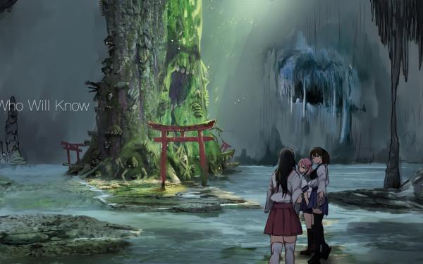 Anime Kantai Collection Kaga Akagi Sazanami HD Wallpaper | Background Image