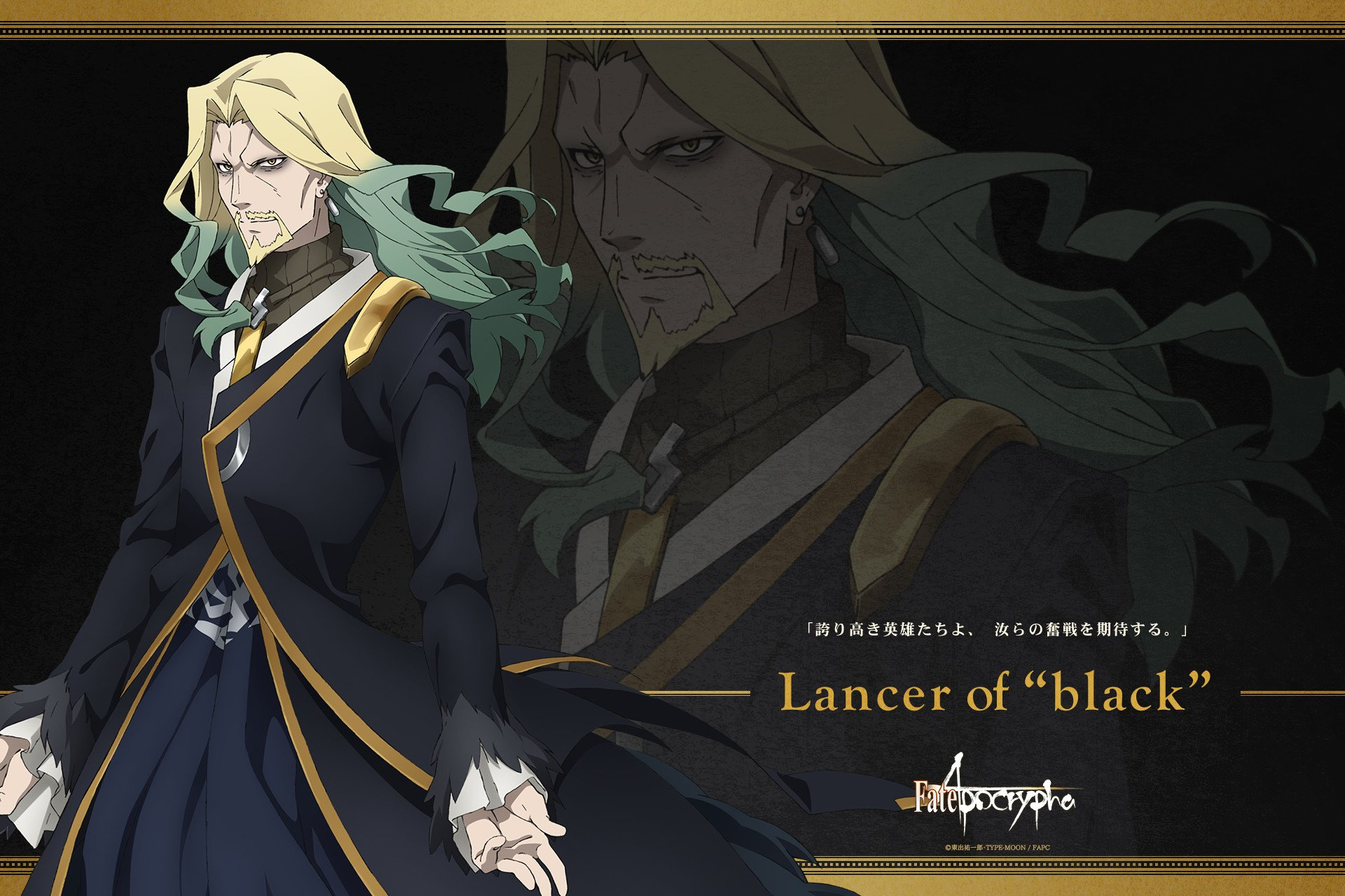 Anime - Fate/Apocrypha Lancer of Black (Fate/Apocrypha) Wallpaper