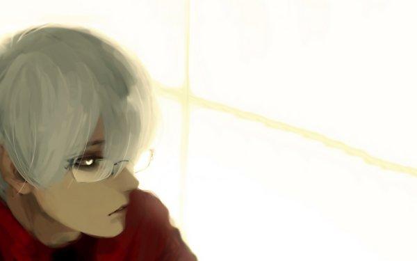 Anime Tokyo Ghoul Kishou Arima Garçon White Hair Glasses White Eyes Fond d'écran HD | Arrière-Plan