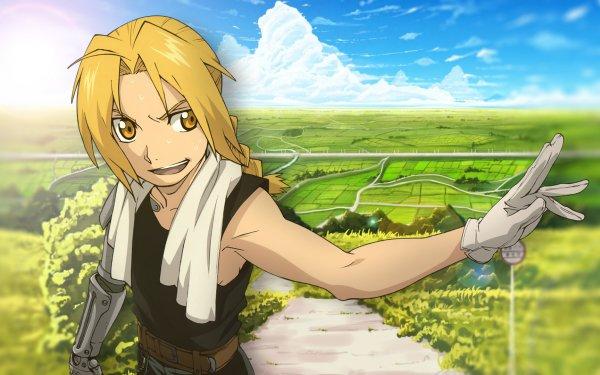 Anime FullMetal Alchemist Fullmetal Alchemist Edward Elric HD Wallpaper | Background Image