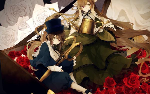 Anime Rozen Maiden Souseiseki Suiseiseki HD Wallpaper | Background Image